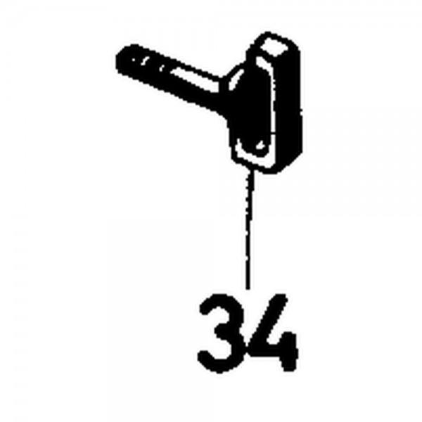 Boulon crochet M8