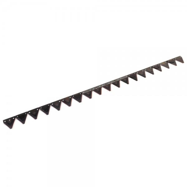 couteau convient pour Bucher K2, trous ovales, espacement des trous 152 mm