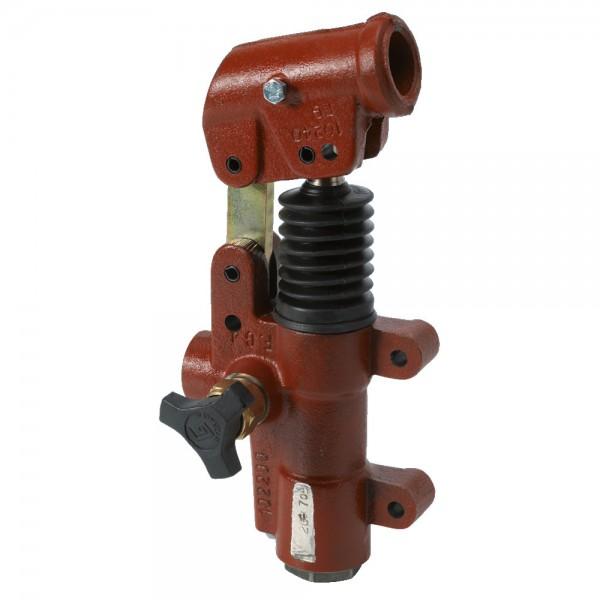 Pompe manuelle sans réservoir, simple effet, double action