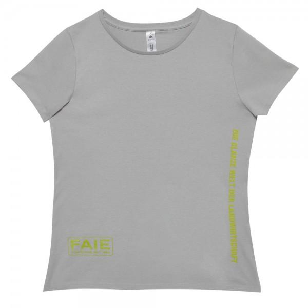 T-Shirt Damen FAIE pacific grau
