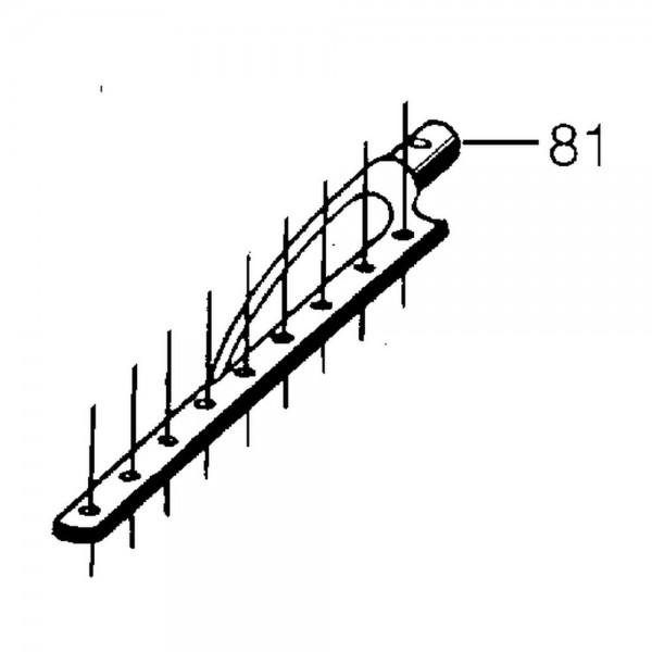tête de coupe, L=400 mm, Ø 18 mm