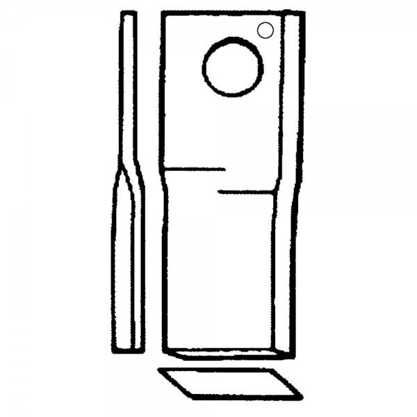 Couteau rotatif radura convient à Fella, Vicon