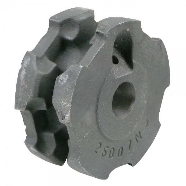 Umlenkrolle 10x31 offen, Bohrung Ø25mm, Außen-Ø110mm