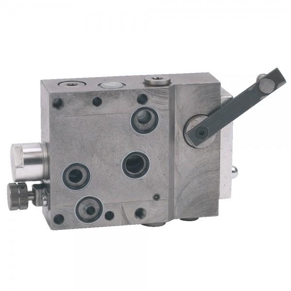 distributeur auxiliaire pour Bosch-Hydraulik SB9 avec bride 4 trous