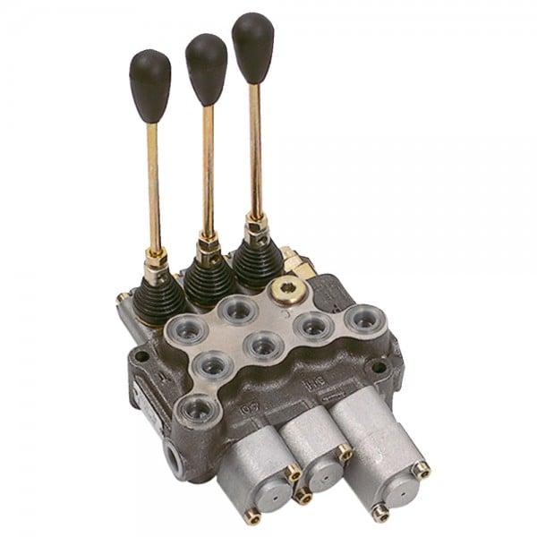 Distributeur BM40/3 double effet-position flottante-cran/2xdouble effet