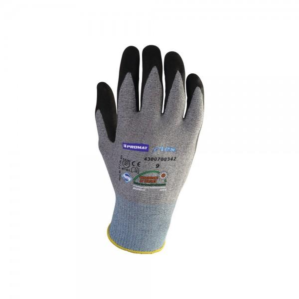 Gants Flex N taille 10 gris/noir EN 388 catégorie II