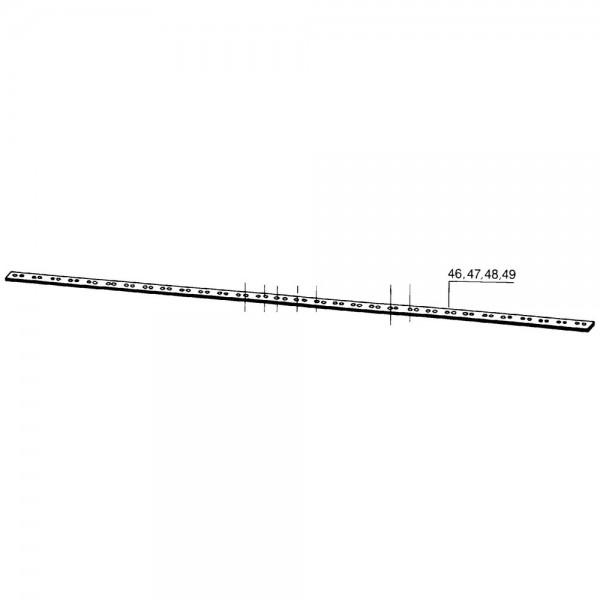dos de lame 137 cm